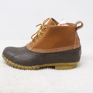 LL Bean Classic 6 Inch Duck Boots Size 10